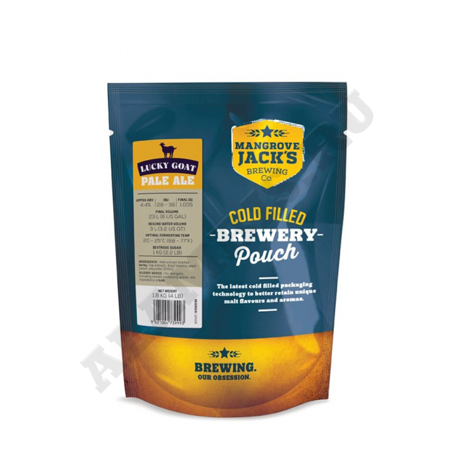 Пивная смесь Mangrove Jack's Pale Ale Pouch Craft Traditional Series, 1.8 кг